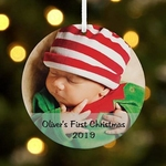 Personalised Photo Ornament