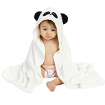 Organic Bamboo Hooded Towel - Panda