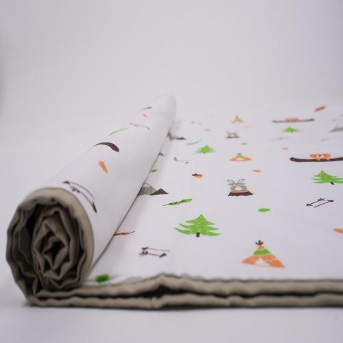 """Hello..... Little Adventure"" Organic Dohar Blanket"