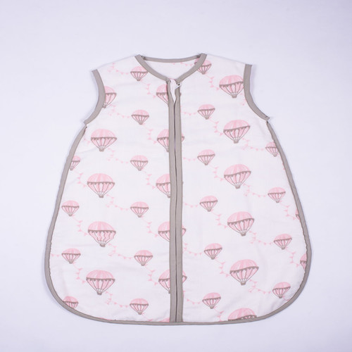 """Up in the Air"" Organic Muslin Sleepsack"