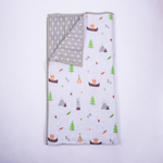 Hello. Little Adventure Organic Cot Bedding Set - With Dohar Blanket