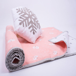 Snowy Snowman Organic Bedtime Essential Set - With Dohar