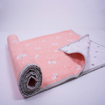 """Snowy Snowman"" Organic Mini Gift Set - With Dohar Blanket"