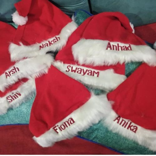 Personalised Santa Cap
