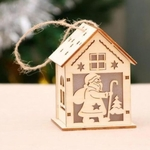Personalised Christmas Light House