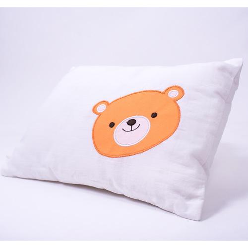 """Hello..... Little Adventure"" Organic Baby Pillow"