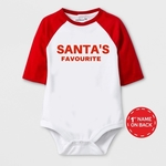 Christmas Special Santa's Favourite Print Baby Romper
