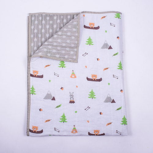 Hello..... Little Adventure Organic Quilt Blanket