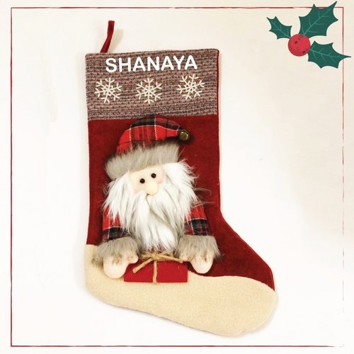 Personalised Stockings - Dear Santa