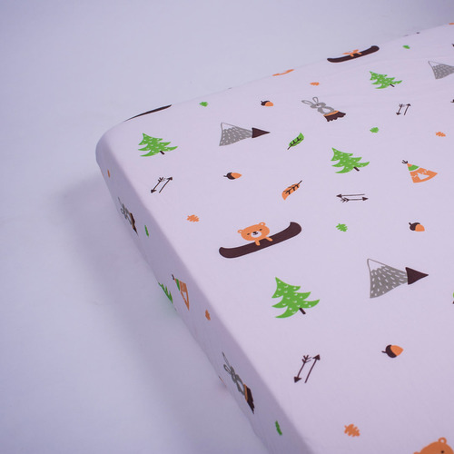 Hello.....Little Adventure Organic Fitted Crib Sheet