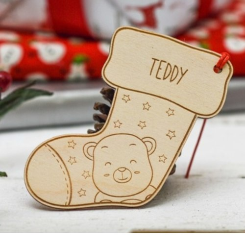Personalised Christmas Ornaments - Stocking