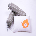 Hello. Little Adventure Organic Cot Bedding Set - With Quilted Blanket