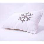 """Snowy Snowman"" Organic Baby Pillow"