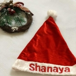 Personalised Santa Caps
