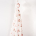 """Up in the Air"" Organic Muslin Swaddle"