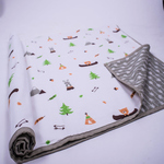 Hello. Little Adventure Organic Playtime Set - With Dohar Blanket