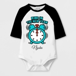 New Year Special Ring In The New Year Print Baby Romper
