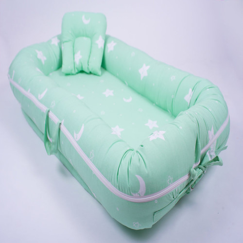 Dreamy Stars Organic Baby Boat