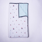 """""""Sailing Boats"""" Organic Playtime Set - with Quilted Blanket"""