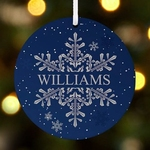 Personalised Ornament - Snowflakes