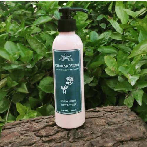 Rose and Herbs Body Lotion