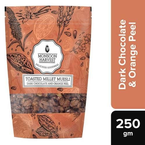 Toasted Millet Muesli Dark Chocolate and Orange Peel