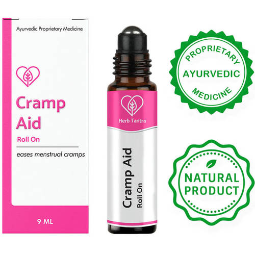 Herb Tantra Cramp Aid Menstrual Cramp Relief Roll-On (9 ml)