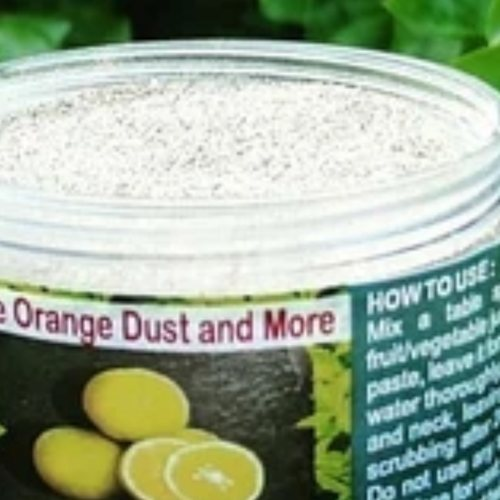 Orange Dust And More Fairness & Glow Face Pack