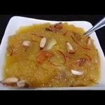 Suji Halwa - Pure Desi ghee