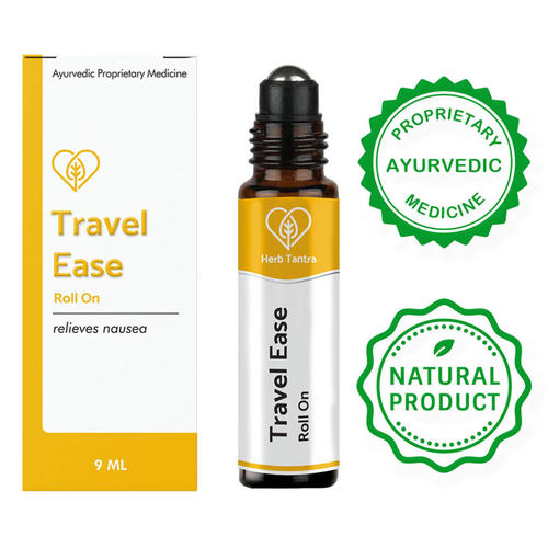 Herb Tantra Travel Ease Motion Sickness Relieving Roll-On (9 ml)