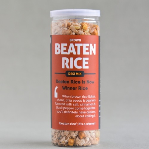 Beaten Brown Rice - Desi Mix