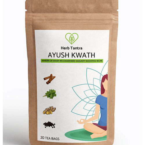 Herb Tantra Ayush Kwath Immunity Booster Tea 20 Tea Bags