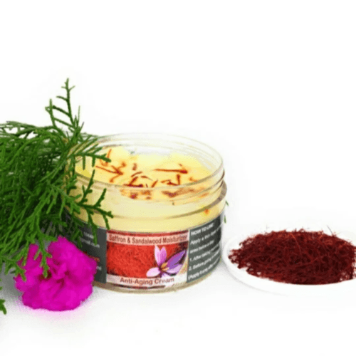 Saffron & Sandalwood Moisturizer Cream  Anti - Aging