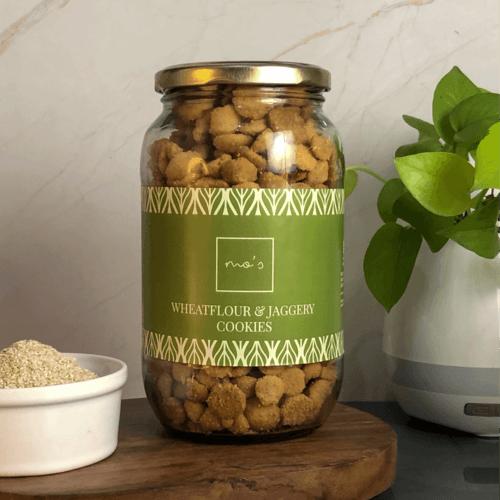 Wheatfloor & Jaggery Cookies