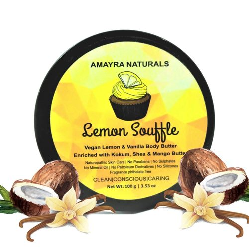 Amayra Naturals Body  Butter( Lemon Vanilla)