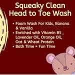 Amayra Naturals Aiko Squeaky Clean Head to Toe Wash