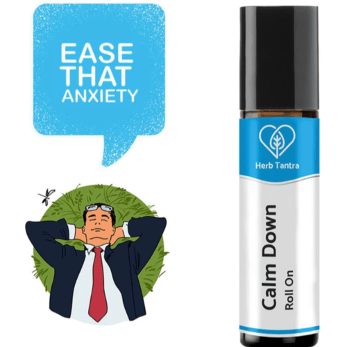 Herb Tantra Calm Down Anxiety Relief Roll-On (9 ml)
