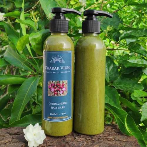 Onion & Herbs Hair Wash