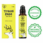 Herb Tantra Travel Ease Junior Kids Roll On For Motion Sickness and Nausea (9 ml)