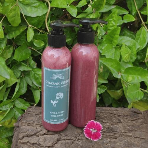 Rose and Herbs Hair Wash