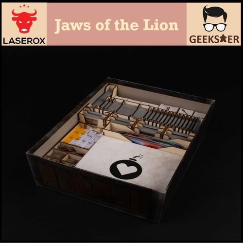 Jaws of the Lion Organizer Free 1 LaserOx Glue