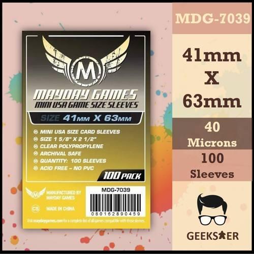 7039 Mayday Standard Mini USA 41 x 63mm