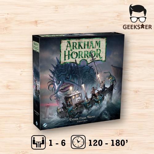 Arkham Horror 3rd Edition Exp: Under Dark Waves