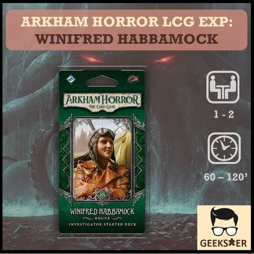 Arkham Horror LCG Exp - Winifred Habbamock Investigator Starter Deck
