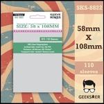 8822 Sleeve Kings Betrayal At House Compatible 58 X 108mm