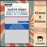 8801 Sleeve Kings Mini USA 41 X 63mm