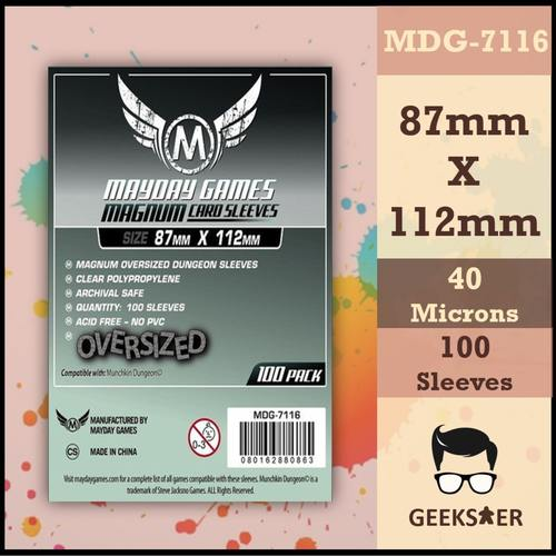 7116 Mayday Standard Oversized Magnum 87 x 112mm
