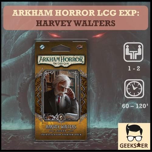 Arkham Horror LCG Exp - Harvey Walters Investigator Starter Deck