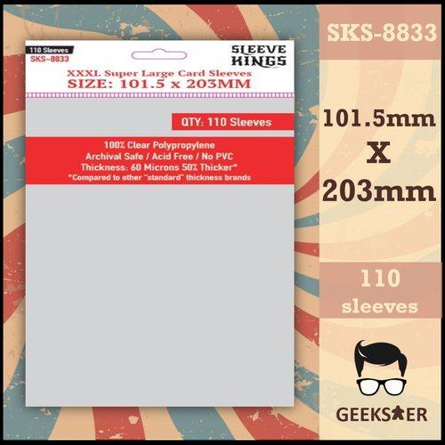 8833 Sleeve Kings XXXL Super Large 101.5 X 203mm