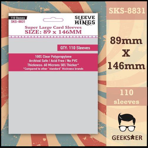 8831 Sleeve Kings Super Large 89 X 146mm